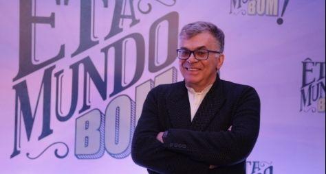 Walcyr Carrasco comemora o sucesso de Eta Mundo Bom!