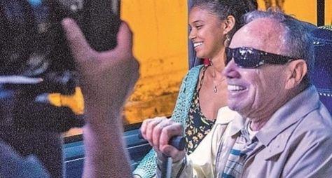 Stênio Garcia grava participação especial em Malhação