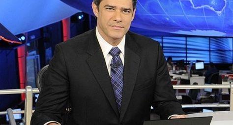 Globo nega saída de William Bonner do Jornal Nacional