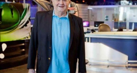 RedeTV! oficializa a contratação de Boris Casoy