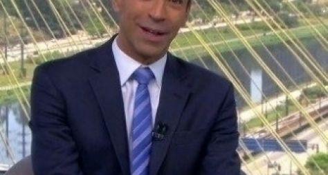 Em alta na Globo, Cesar Tralli apresentará Jornal Hoje aos sábados