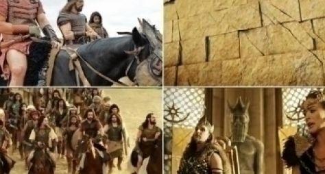 A Terra Prometida: Record exibe sequência da queda das muralhas de Jérico