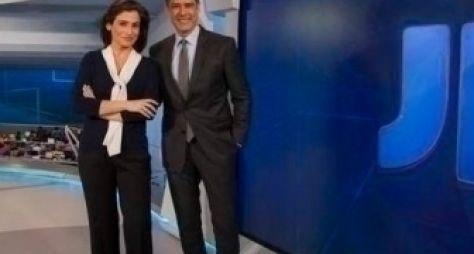 Globo faz mistério com o novo cenário do JN