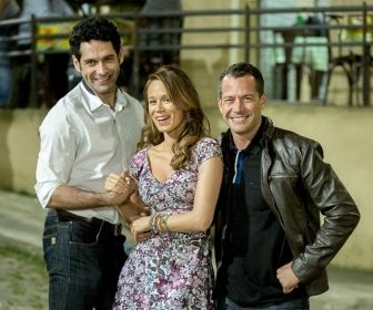 Protagonistas de Haja Coração. Foto: Globo
