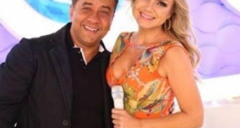 Maurício Manfrini o Paulinho Gogó se emociona no programa Eliana