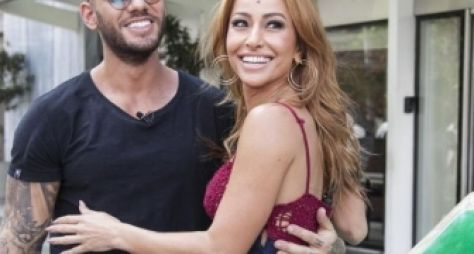 Sabrina Sato vira mexicana em brincadeira com Lucas Lucco
