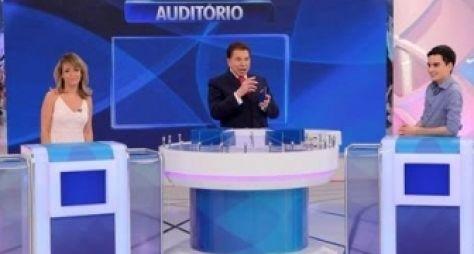 Programa Silvio Santos recebe Dudu Camargo e apresenta nova pegadinha
