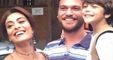 Juliana Paes e Emílio Dantas gravam A Força do Querer