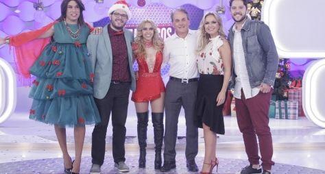 Programa Eliana especial de Natal tem a presença dos atores de Carrossel e Chiqu