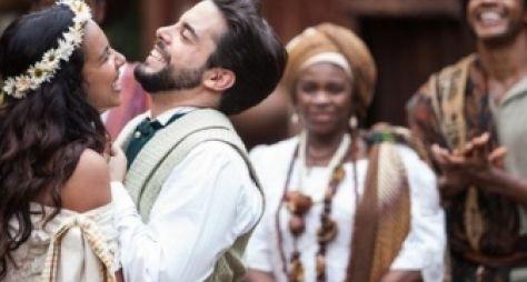 Escrava Mãe: Miguel e Juliana se casam às escondidas em quilombo