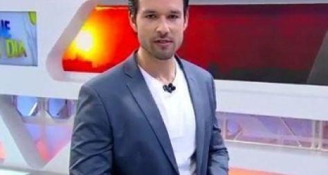 Sergio Marone estreia como apresentador no Hoje em Dia