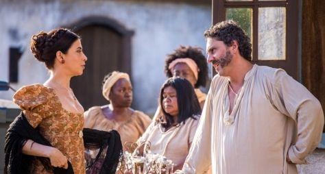 Alexandre Nero e Fernanda Torres são os protagonistas de Filhos da Pátria