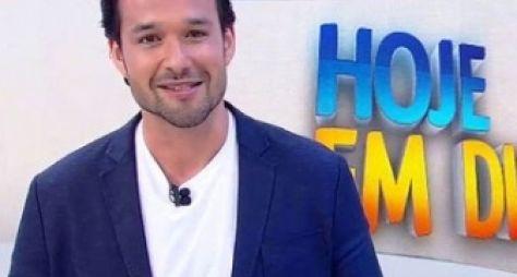 """Sergio Marone se despede do Hoje em Dia: """"Foi um prazer"""""""