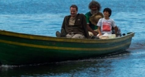 Dan Stulbach grava A Força do Querer no Rio Negro