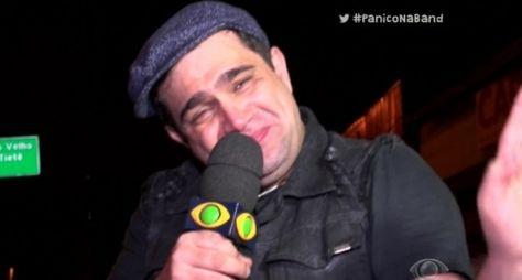 Evandro Santo está fora da nova temporada do Pânico da Band