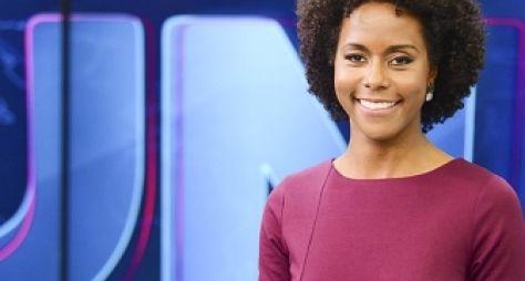 Globo testará Maju Coutinho como apresentadora do Jornal Hoje