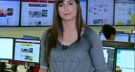 Mari Palma prepara reportagem especial para o Fantástico