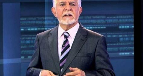 Record TV volta com telejornal apresentado por Domingos Meirelles