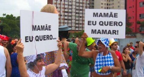 Programa Silvio Santos apresenta situações inéditas de Carnaval