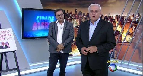 Record TV quer reunir Marcelo Rezende e Geraldo Luís em novo programa