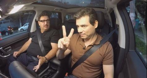 """""""Queria construir uma casa dentro do SBT"""", diz Ratinho no Domingo Legal"""