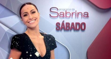 Programa da Sabrina registra pior audiência do ano