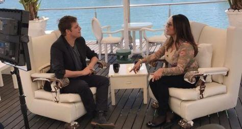 Em entrevista a Porchat, Márcia Goldschmidt descarta retorno à televisão