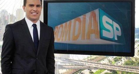 Bom Dia SP: Rodrigo Bocardi grava reportagens especiais