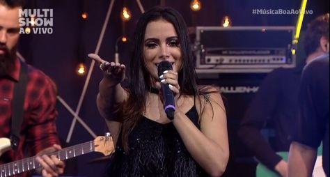 Anitta comanda nova temporada do Música Ao Vivo, no Multishow