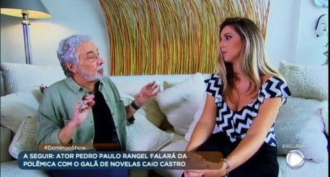 Pedro Paulo Rangel está revoltado com reportagem da RecordTV