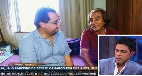 """Zezé di Camargo dispara contra programa da RecordTV: """"Sensacionalismo!"""""""