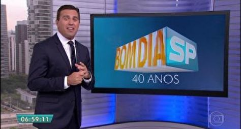 Bom Dia São Paulo surpreende nas manhãs da Globo