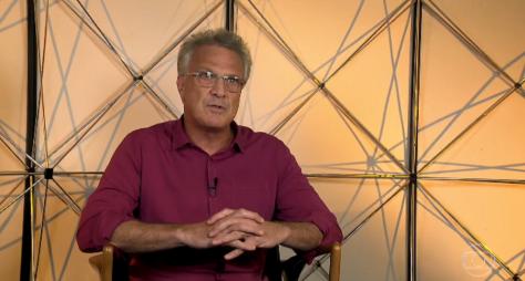 Identidade visual do Conversa com Bial é idêntica com programa da TV Brasil