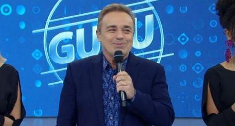 Gugu vai gravar entrevistas no exterior