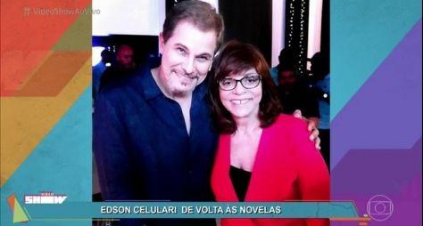 Edson Celulari revela motivação de Gloria Perez para gravar em A Força Do Querer