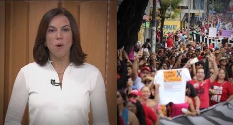 Com greve geral, telejornais da Globo disparam na audiência