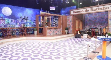 """""""Boteco do Ratinho"""" ganha novo cenário no SBT"""