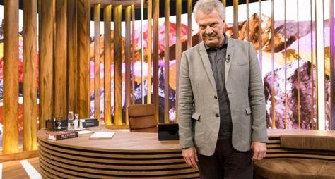 A estreia do Conversa com Bial, hoje na Globo
