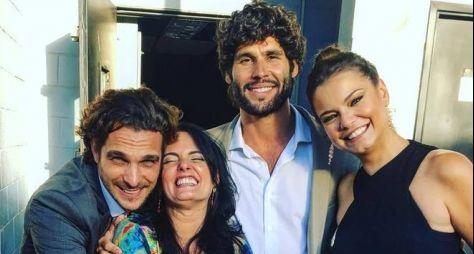 Paula Richard, autora de O Rico e Lázaro, bate-papo com fãs da novela