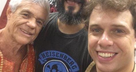 João Velho começa a grava sua participação em O Rico e Lázaro