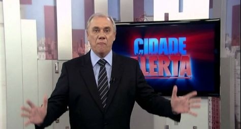 Internado, Marcelo Rezende desfalca a apresentação do Cidade Alerta