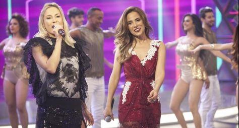 Claudia Leitte e Wanessa Camargo agitam o Programa da Sabrina