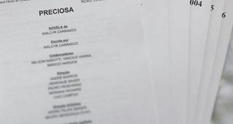 Novela de Walcyr Carrasco às 21h será Preciosa