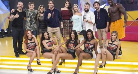 MC Gui e Paula Mattos comandam disputa musical em game do Legendários