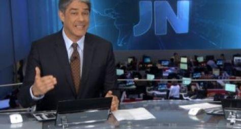 Com escândalo na política, JN faz a maior audiência do dia