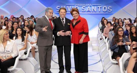 Programa Silvio Santos: Dilmoca e Lulofe participam do Jogo dos Pontinhos