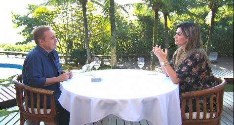 Kelly Key é entrevistada da semana do programa do Gugu