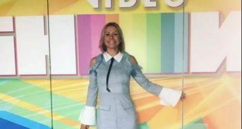 Monica Salgado é a mais nova integrante do Vídeo Show