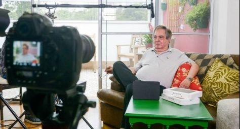 Benedito Ruy Barbosa fala sobre Domingos Montagner em entrevista ao Viva