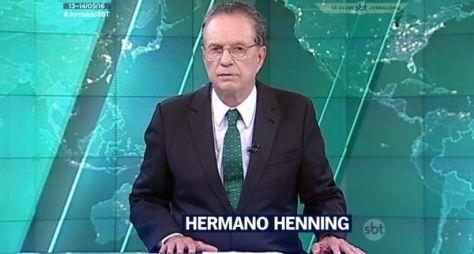 Hermano Henning se despede do SBT após 23 anos
